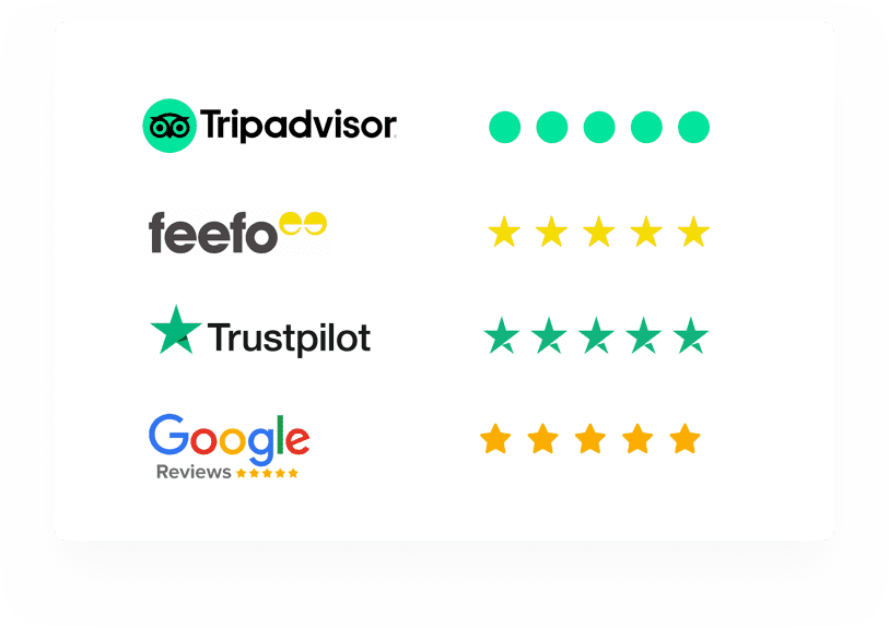 Springo - Guest WiFi - Boost your Guest reviews with Tripadvisor, Feefo, Trustpilot and Google Reviews